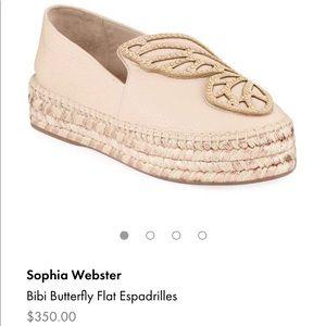 🦋 Sophia Webster Bibi Butterfly Espadrilles 🦋
